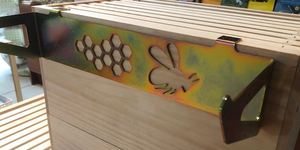 Frame Holder - Bee Pattern for wooden hives