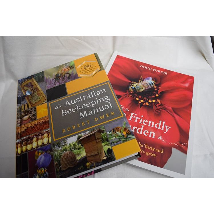 Book set - Bee Friendly Garden & The Australian Beekeeping Manual