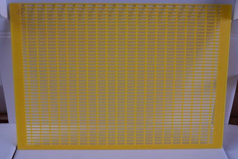 Queen Excluder - 8 frame Plastic Yellow
