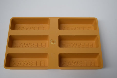Beeswax Mould - 6 small blocks
