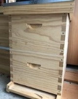 BeeHive wooden double Starter Pack - with FLAT PACK boxes - 8 frame size