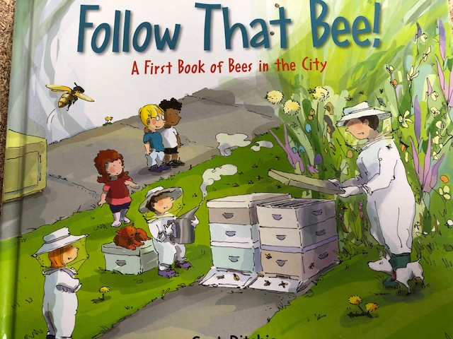 Book - Kids - Follow That Bee!: A First Book of Bees in the City