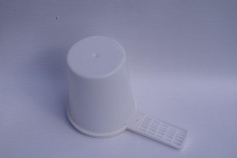 Bee Entrance Feeder - Round - Colour Yellow
