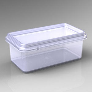 Honey Comb Container -small rectangular (pack of 10)