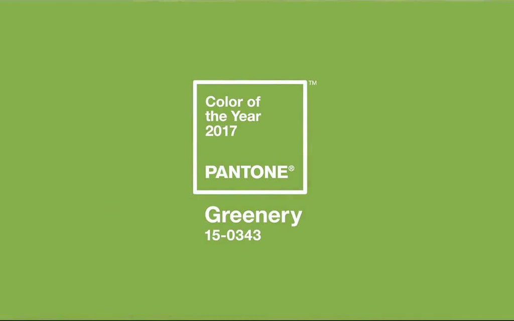 Pantone of the year 2017 - Greenery