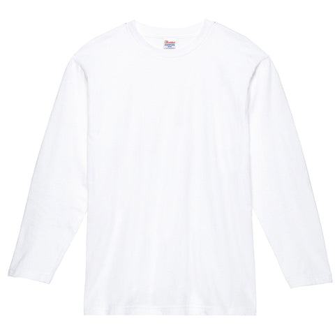 Printstar [00102-CVL] Long-sleeved Tee-shirts / 全棉圓領長袖T恤