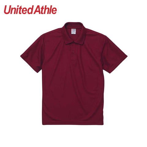 United Athle [2020-01] High Performance Dry-Fit Polo Shirt / 高機能吸濕排汗網眼快乾Polo衫