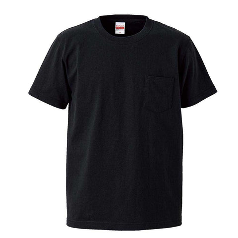 United Athle [4253-01] Heavyweight Adult Cotton Pocket T-shirt / 超重磅短袖有袋T恤