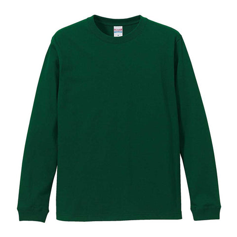United Athle [5011-01] Long Sleeve Cotton T-shirt / 全棉長袖T恤