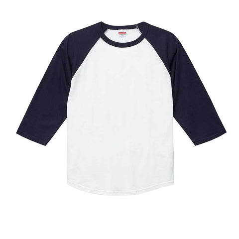 United Athle [5045-01] 3/4 Sleeve Raglan T-shirt / 七分袖牛角袖T恤