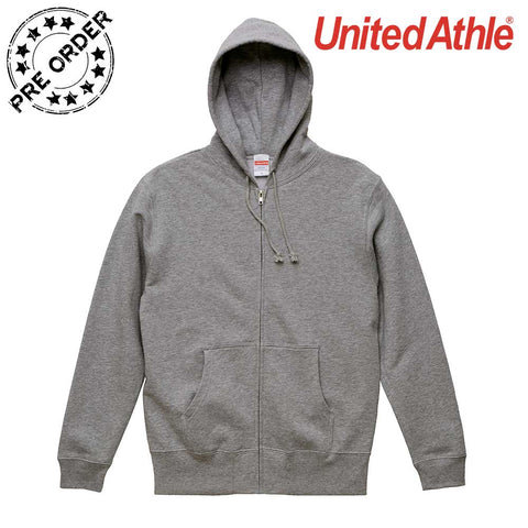 United Athle [5213-01]  Cotton French Terry Full Zip Hoodie/ 純棉魚鱗布連帽拉鍊衛衣