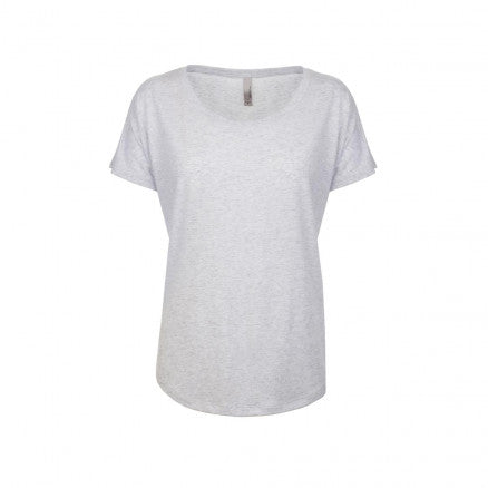 Next Level Apparel [NL6760] Women's Tri-Blend Dolman / 女士三合一面料蝙蝠袖T恤