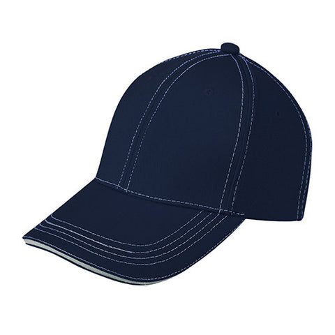 Baseball Cap with Colour Quilting and Lining [9LE04] / 绗线棒球帽(夹三文)