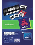 Avery Media Labels L7656 46x11.1mm 84UP Pk25