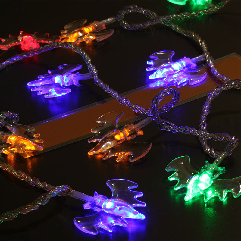 Halloween Party Decoration Accessory Skull 10 LED Fairy Lights Childrens Adults