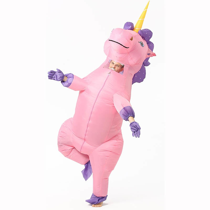 Adult Inflatable Hippo Costume