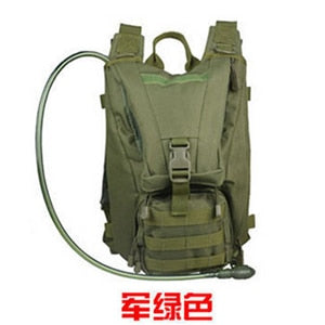 c2734f98b6e2 New camouflage Oxford cloth sports shoulders tactical backpack outdoor  water bag backpack men and women ...