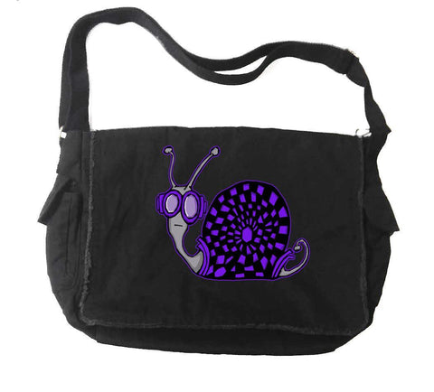 Techno Snail Messenger Bag