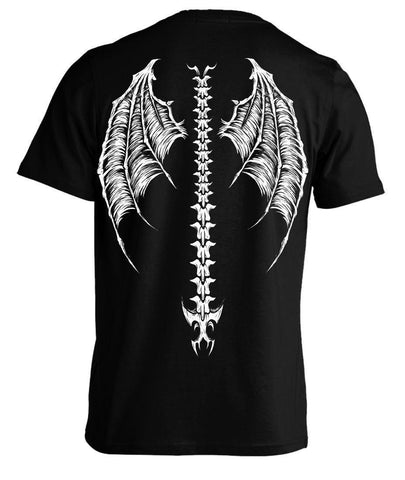 Men's Demon Wings Tee Shirt