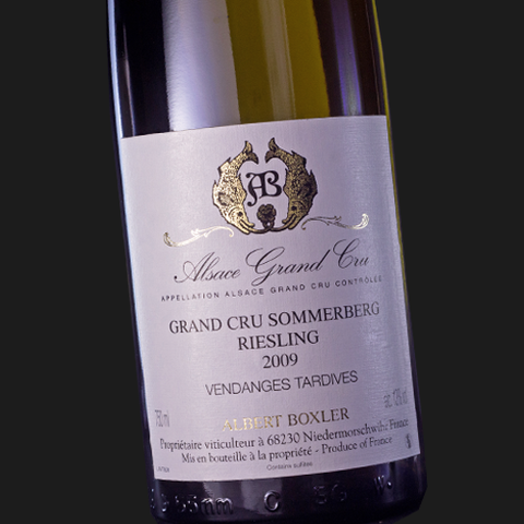2009 Domaine Albert Boxler Riesling Grand Cru Sommerberg Vendanges Tardives