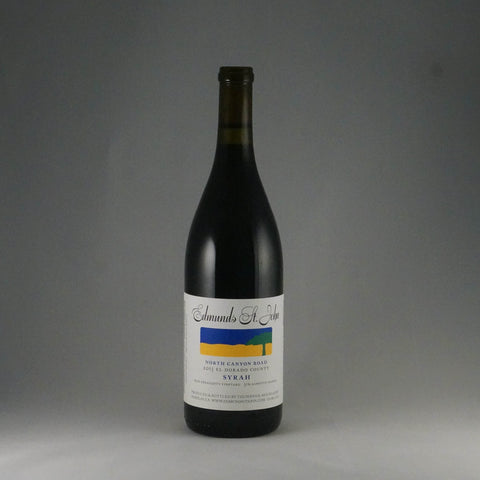 2013 Edmunds St. John North Canyon Syrah