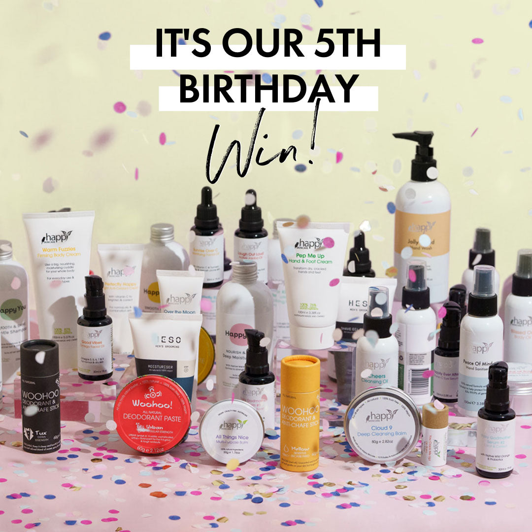 Win! It's our 5th birthday!