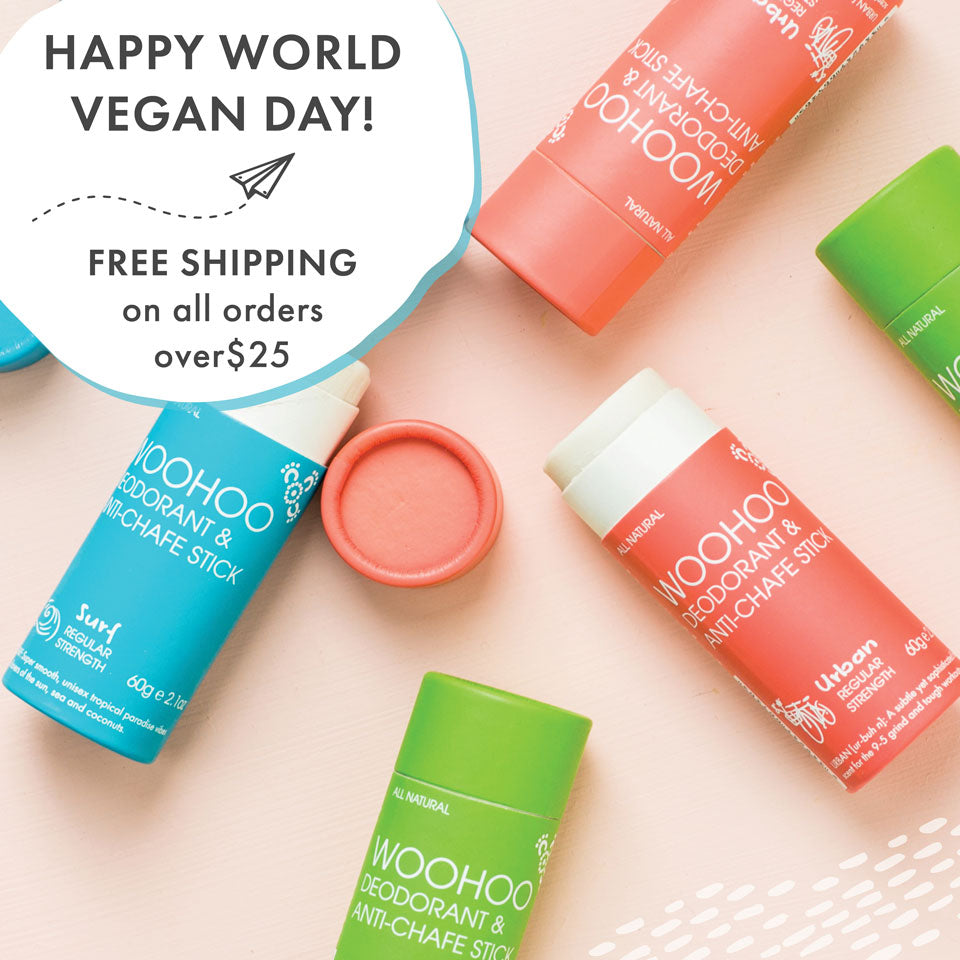 Free Aussie Shipping on orders over $25