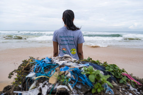 rePurpose Goa Impact project - our funding is helping recover ocean bound plastic