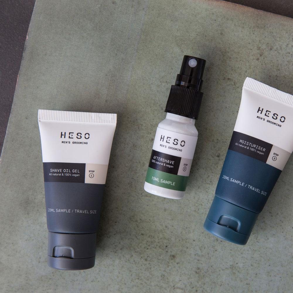 HESO Men's Grooming - Trial Kit