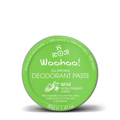 Woohoo All Natural Deodorant Paste (Wild) 40g