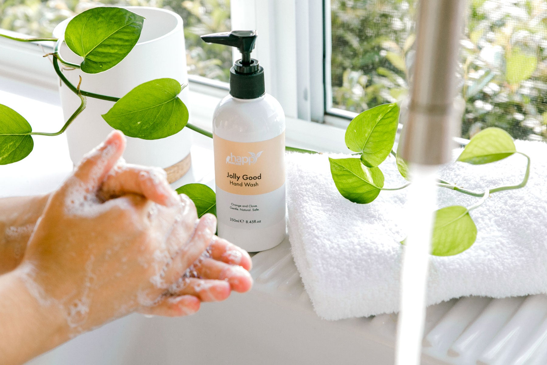 How to use your 'Jolly Good' Hand & Body Wash