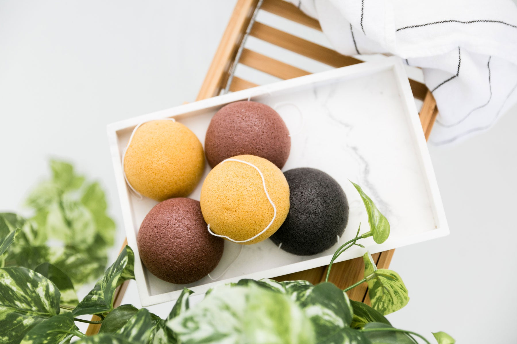 How to use your Konjac Sponge