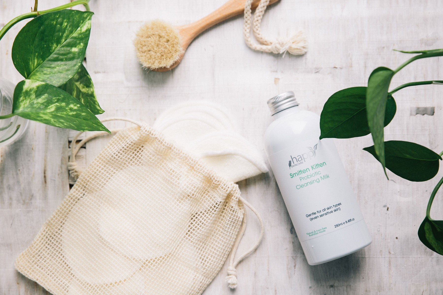 How to use your 'Smitten Kitten' Probiotic Cleansing Milk