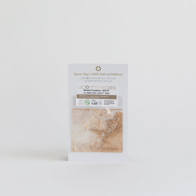 "ECO Minerals ""Flawless"" Pure Mineral Foundation (SPF 25) - Matte - SAMPLE"