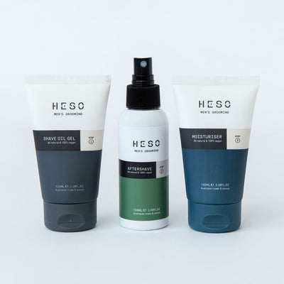 HESO Men's Grooming - 3 Step Shave System