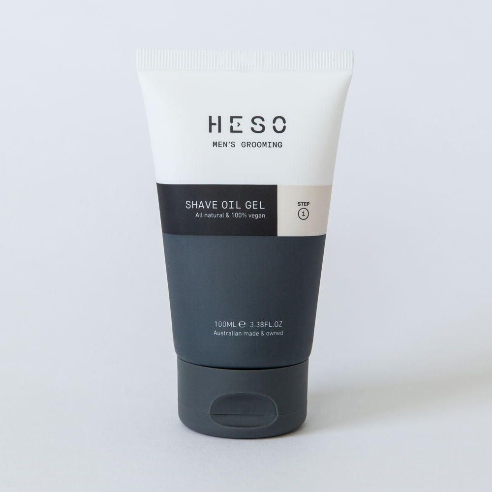 HESO Shave Oil Gel 100ml