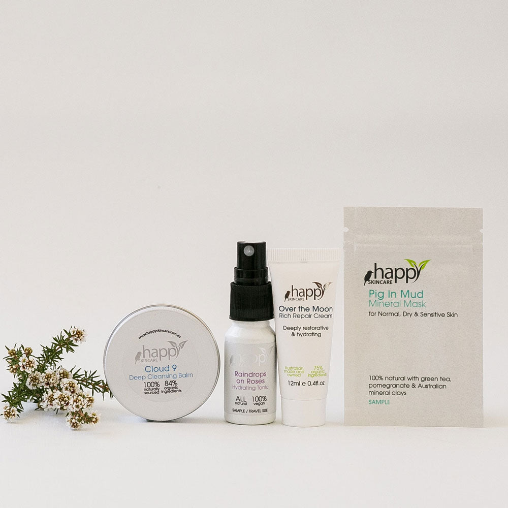 Deluxe Sample Pack (Normal, Dry or Sensitive Skin)