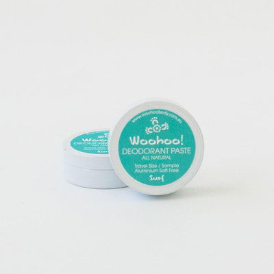 NEW SCENT - Woohoo! All Natural Deodorant Paste (Surf)