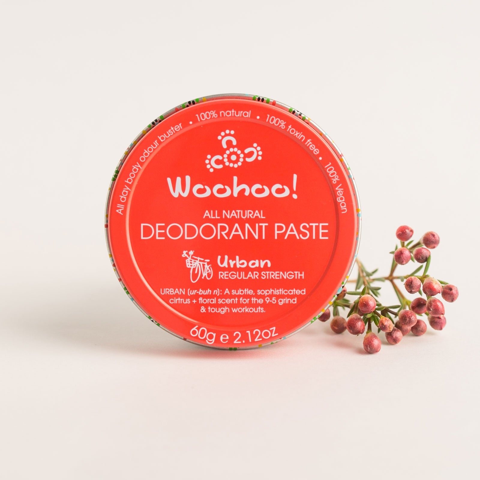 Woohoo All Natural Deodorant Paste (Urban)