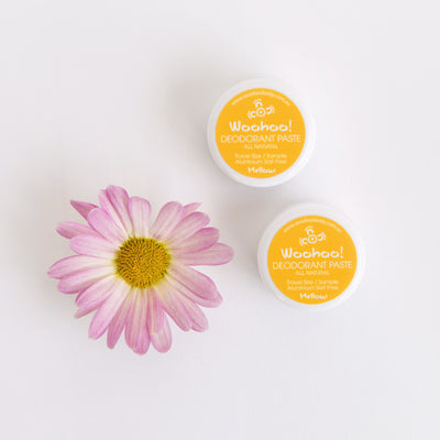SAMPLE - Woohoo! All Natural Deodorant Paste (Mellow)