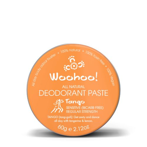 Woohoo All Natural Deodorant Paste (Tango)