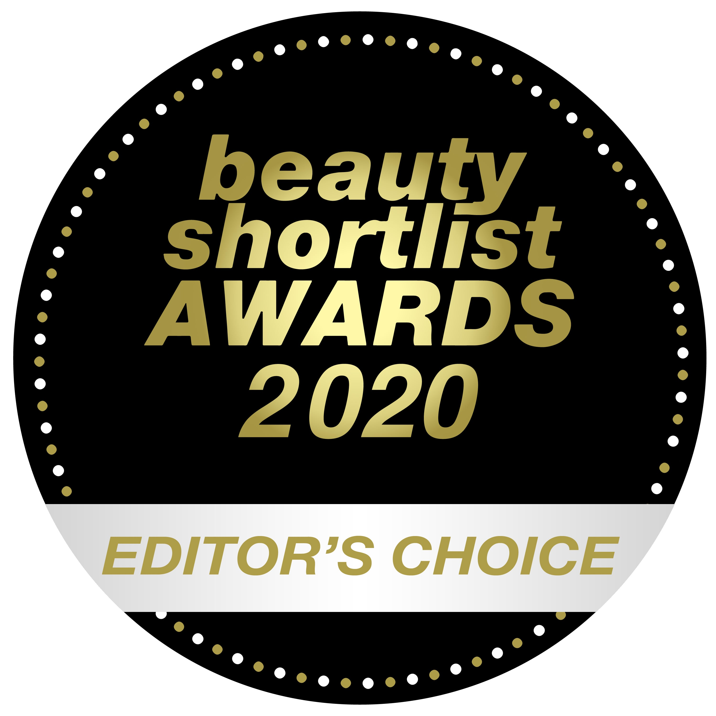 EDITOR'S CHOICE - Beauty Shortlist Awards 2020