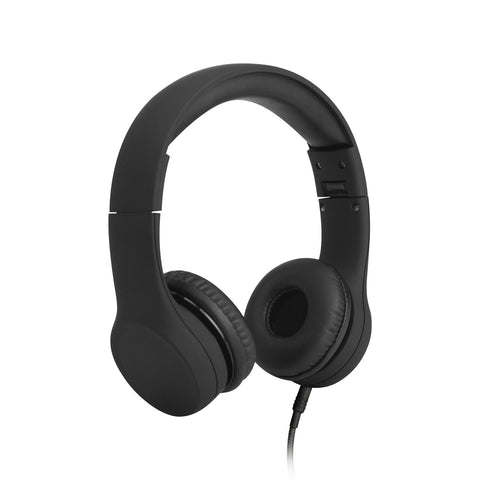 Connect+ Children's Wired Headphones - Black