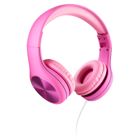 Connect+ Pro Children's Wired Headphones - Pink