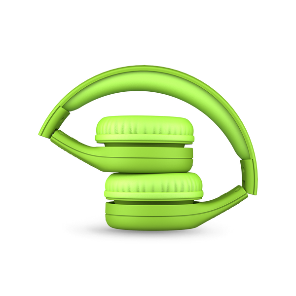 Connect+ Pro Children's Wired Headphones - Green