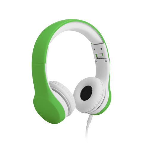 Connect+ Children's Wired Headphones - Green