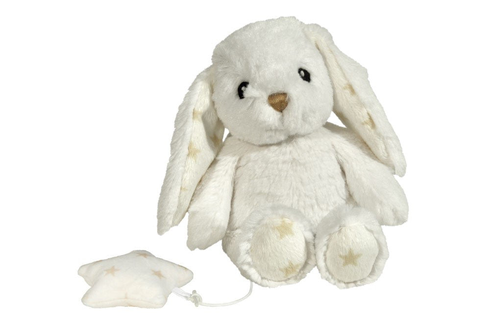 Hugginz™ Musical Plushie - White Bunny