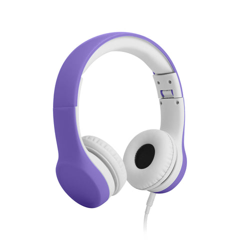 Connect+ Children's Wired Headphones - Purple