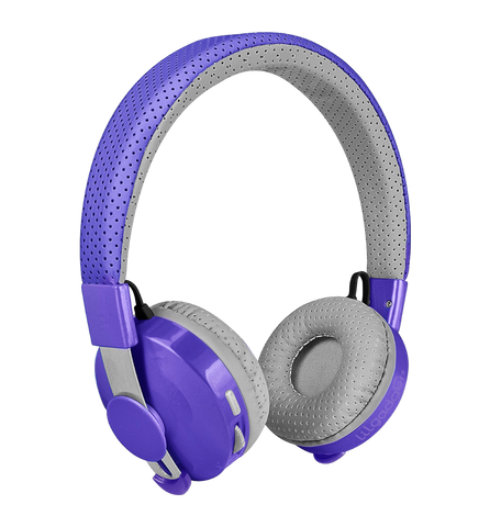Untangled Pro Children's Bluetooth Headphones - Purple