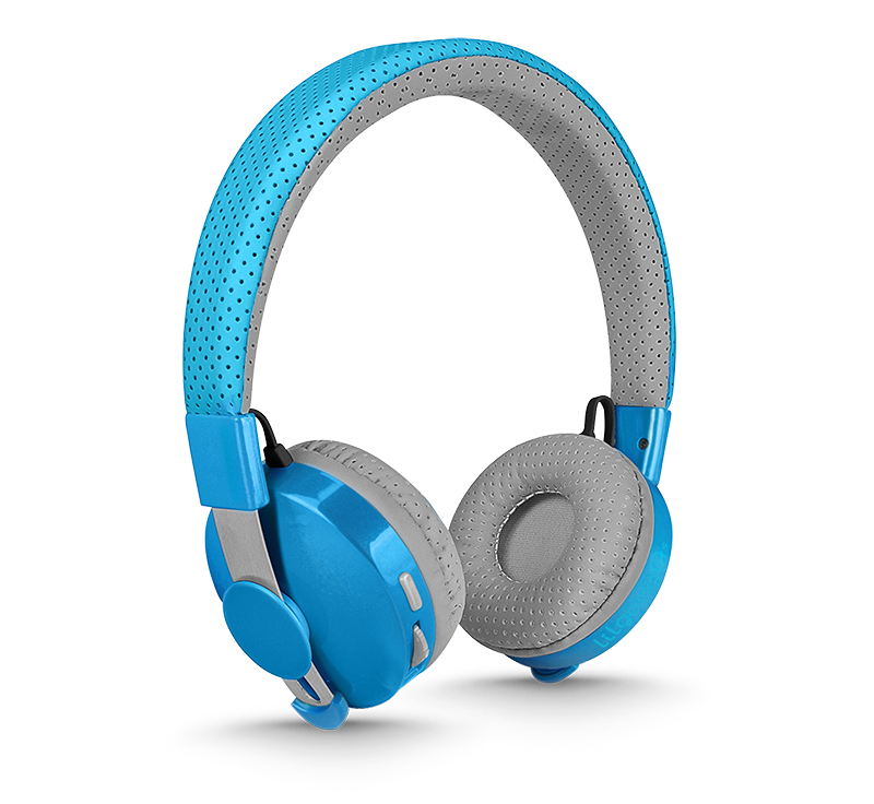 Untangled Pro Children's Bluetooth Headphones - Blue